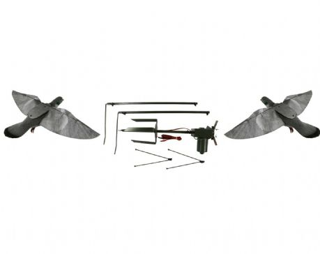 Pigeon Magnet with 2 X HYPA Pro Pigeon Decoys Rotary Machine Decoying Shooting
